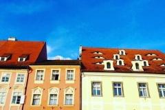 チェコの小さな町